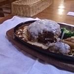 霜降りハンバーグとステーキの店 鉄重 - ハンバーグ実食
