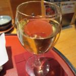 くしかつ一期屋 - グラスワイン(白) 480円