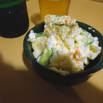 しろくま屋 - 【2013年8月】「ポテトサラダ」300円也。