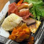食堂 728 - 前菜おまかせ5種盛り