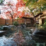 新井旅館 - 四季折々の花が楽しめる 野天風呂