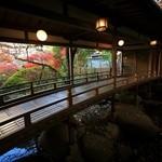 新井旅館 - 渡りの橋