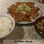 20520143 - お肉大盛り定食(870円)