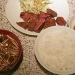 20520161 - 特選和牛ステーキ定食(1000円)