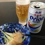 20523325 - オリオンビールと島らっきょ