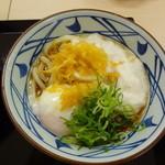 丸亀製麺 - とろ玉うどん 冷(並)380円