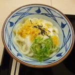 丸亀製麺 - とろろ醤油うどん 冷(並)330円