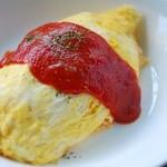 おひさまらんち - 完熟トマトケチャップオムライス