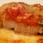 TRATTORIA AL SODO  - 贅沢ランチのメイン料理(豚肩ロースのフレッシュトマトソース)