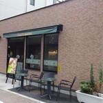 タリーズコーヒー - 裏側にも入口があります (2013/8)