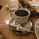 あい蘭道 - セットのホットコーヒー
