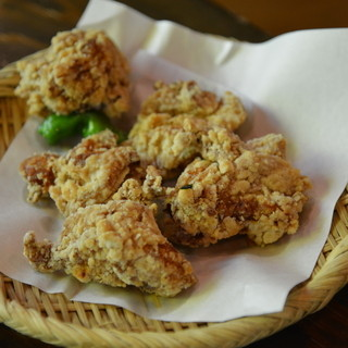山の寺 邑居 - 料理写真:2013年7月鶏の唐揚げ