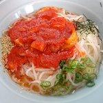 芳華 - 冷麺(大)の激辛:800円