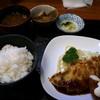 焼とんかつ キッチン たいら - 料理写真:焼とんかつとエビフライ定食