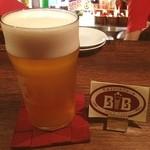 ONZE - びわこいいみちビール  何と,1441年創業‼ 一説によると,日本最古のビールらしい‼  無濾過だから,自然な酸味も効いていて,これは美味しい^_^