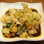 筋斗雲 - 豚肉とキャベツの味噌炒め