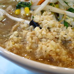 横浜鍛麺 - 大量の生姜!