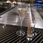 鉄板焼レストラン オーク - シャンペン パイパーエドシック