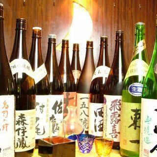 全国各地より日本酒を取り揃えております!