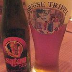 西駅前Beerダイニング 麦笑家 - ベルギービール「サタン」