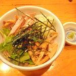 麺ぽーかろぅ - 雑炊セット           210円