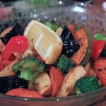 いゆじ - 揚げ野菜温サラダ