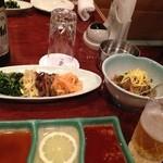 叙々苑 新宿中央東口店 - コースの前菜(一部)