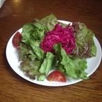 Abiru - ランチセットのサラダ