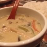 アジアン麺 - Aug, 2013 グリーンカレー750円