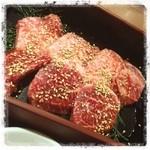 肉家焼肉ゑびす本廛 - カルビ定食!美味しい!(ビール飲みたい)