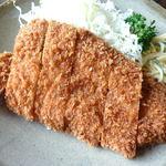とんかつくら島 - 上ロースカツ定食¥1350(150g)
