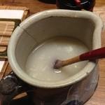 20534632 - たっぷりの蕎麦湯