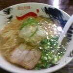 20537244 - 塩ラーメン 細麺 650円