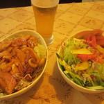 サフラン 池袋 - 2種類のサラダ