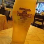 サフラン 池袋 - 生ビール  600円