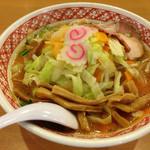 ラーメンめん丸 - 野菜味噌ラーメン
