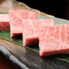 牛力庵 - 料理写真:厚みはなんと1センチ。圧巻! 『SEJONGの最強ロース』