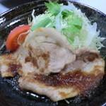 さつま料理 よ田屋 - 「黒豚生姜焼き」