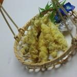 さつま料理 よ田屋 - 「きびなご天ぷら」