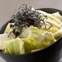 ごっつい - 『しゃきっと白菜サラダ』特性マヨネーズとポン酢の愛称が抜群!!