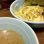 ラーメンショップ - ネギつけ麺 2013年8月