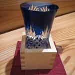 串焼炭炉 はん蔵 - 八海山 580円(グラス)