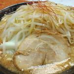 麺賊 夢我夢中 - 豚基本麺大盛麺固め