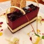 20543350 - カシスのケーキはお店チョイス