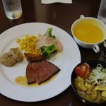 ハイアット リージェンシー 福岡 レストラン ル・カフェ - カレーがあまりテンション上がりませんでした