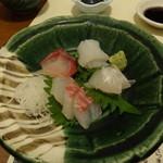 喜多八寿司 - 刺身4種盛