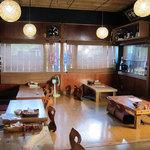 神山食堂 - 座敷スペース