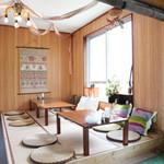 cafe Natura - 2階には予約制のアジアンティストな座敷席