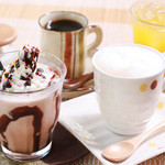 cafe Natura - ハンバーグメニュー*Aセットは、お好きなドリンクをお選び頂けます。