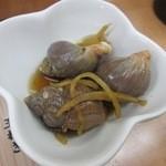 松ぼっくり - 貝の煮付け